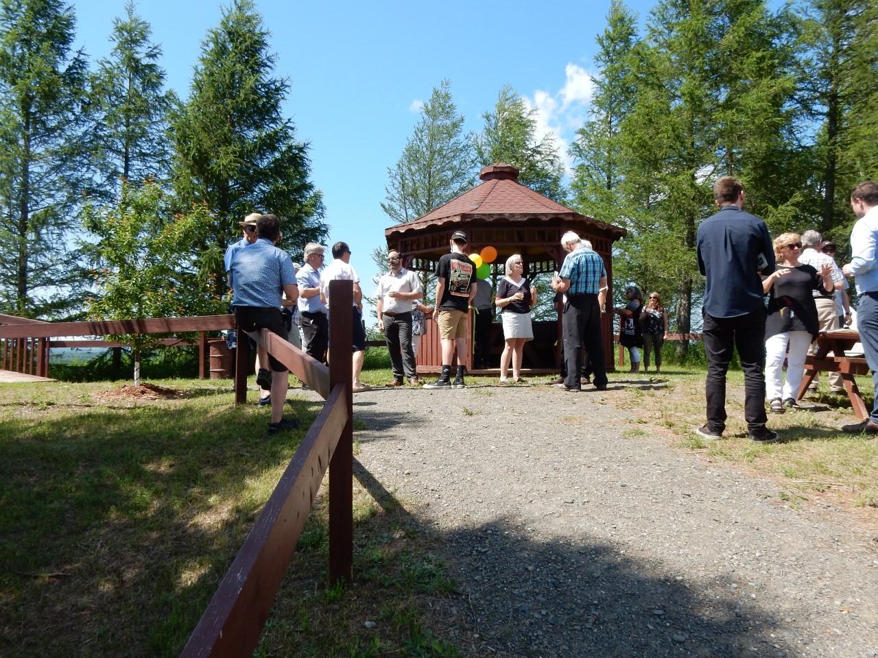 Inauguration halte Lac des Aigles 28 juin 2021